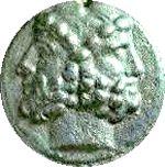 Janus, le dieu romain à deux visages. Crédit image de livius.org