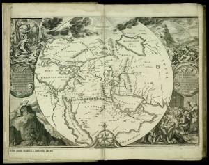 De Hooghe's map of Biblical Lands, published 1715, Amsterdam