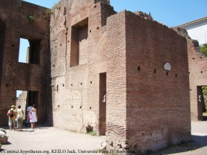 Domus Augustana, Augustus Caesar's primary residence on the Palatine Hill in Rome.