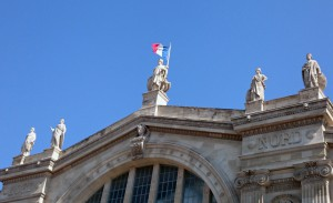 Facade Gare du Nord details Centrici site Keilo Jack