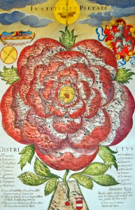 FIGURE 1. Rose of Bohemia, by Chr. Vetter, 1668