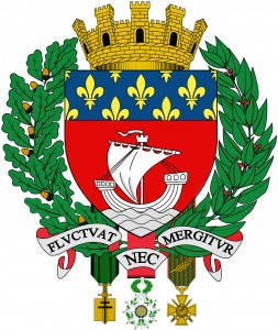 The coat of arms of Paris